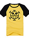 """Surgeon of Death"" Trafalgar Law Heart Pirates Symbol T-shirt"