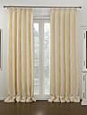 neoklassiska två paneler blom- botaniska beige vardagsrum polyester mörkläggningsgardiner gardiner
