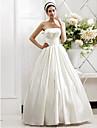 Lanting Bride® Corte en A / Princesa Tallas pequenas / Tallas Grandes Vestido de Boda - Moderno y Chic / Glamouroso Otono 2013 LargaSin