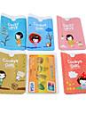 cookies flicka mönster kreditkort hela kroppen fallet (slumpmässig färg)