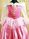 Cosplay Kostymer/Dräkter / Festklädsel Prinsessa Festival/Högtid Halloween Kostymer Vit / Rosa Enfärgat / Spets KlänningHalloween /