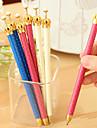 Crayon Stylo Porte-mines Stylo,Plastique Baril Noir Couleurs d\'encre For Fournitures scolaires Fournitures de bureau Paquet