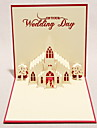 """The Wedding Day"" Three-dimensional Greeting Card (More Colors)"