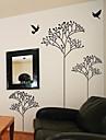 Sprining arbre et stickers muraux d\'oiseaux
