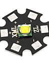 20mm CREE XM-L2 U2 960lm Cool White Bulb Board för Ficklampa - Svart + Grå
