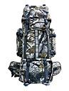 80 L Backpacker-ryggsäckar Camping / Klättring / Resa Utomhus Vattentät / Regnsäker / Damm säker / Bärbar Kamoflage Polyester