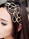 z&x® împletituri de păr, gol cu banda de păr de aur