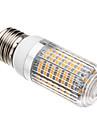 7W E26/E27 LED-lampa T 138 SMD 3528 620-640 lm Varmvit AC 220-240 V