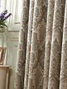 (Two Panels) Michelle Luxury® Rococo Noble Pattern Energy Saving Curtain