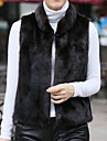 Fur Vest With Sleeveless Pillow In Faux Fur Party/Evening Vest(More Colors)