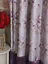 (Deux panneaux) pays des roses pourpres energie rideau sauver Luxury® michelle