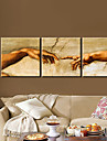 Stretched Canvas Art People This is Called Love Set of 3