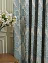 (Two Panels) Michelle Luxury® Jacquard European High Quality Energy Saving Curtain