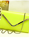 Women PU Casual / Event/Party Clutch / Evening Bag Purple / Green / Black