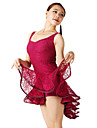Dancewear Viscose And Lace Dance Dress For Ladies(More Colors)