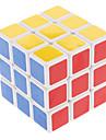 Shengshou® Cube de vitesse lisse 3*3*3 Vitesse / Niveau professionnel Cubes magiques Blanc Autocollant lisse Anti-pop / ressort reglable