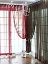 twopages® (en panel genomföringen överst) elegant fast ren gardin