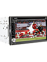 6.2Inch Universal 2 DIN In-Dash Car DVD player with GPS,BT,IPOD,FM,RDS,Touch Screen