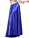 Belly Dance Skirts Women\'s Training Satin 1 Piece Black / Blue / Fuchsia / Green / Pink / Purple / Royal Blue / YellowBelly Dance /