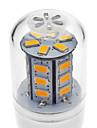 4W E14 / G9 / GU10 / E26/E27 LED-lampa T 24 SMD 5730 330-380 lm Varmvit / Kallvit AC 220-240 V