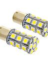 Ampoule 6W 1156/BA15S 24x5050SMD 490lm 5500-6500K blanc froid lumiere LED pour voiture (12V, 2pcs)