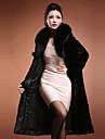 Lange mouwen opmaken Faux Fur Party / Casual Coat
