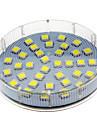 5W GX53 LED-spotlights 36 SMD 5050 280-350 lm Kallvit AC 220-240 V