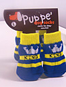 Winter Cotton Socks & Boots for Dogs / Cats Blue S / M / L