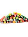 20st Söt 3D Frukt Nail Art FIMO cane Rods Dekoration
