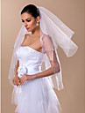 Fashion Two-tier Elbow Wedding Veil(More Colors)