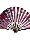 """Mătase Ventilatoare și umbrele de soare-# Piece / Set Ventilatoare de Mână Temă Florală Roz Liliac Verde Albastru Negru15""""x8 1/3""""x"""