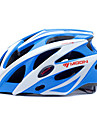 MOON® Femme Homme Velo Casque 25 Aeration Cyclisme Cyclisme Cyclisme en Montagne Cyclisme sur Route Polycarbonate EPS Blanc Bleu