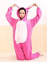 kigurumi Pyjamas Monster Collant/Combinaison Fete / Celebration Pyjamas Animale Halloween Incarnadin Mosaique Flanelle Kigurumi Pour