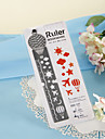 Hot-air Balloon Design Ruler/Bookmark