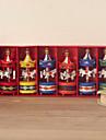 Wooden Merry-go-round Keepsake - Set of 6 Pieces