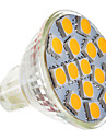 5W GU5.3(MR16) LED-spotlights MR11 15 SMD 5050 250-280 lm Varmvit AC 12 V