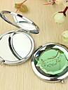 Motif personnalise vigne cadeau Chrome miroir compact