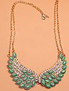 Necklace Collar Necklaces Jewelry Party / Daily Fashion Crystal / Alloy Green 1pc Gift