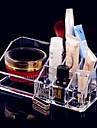 Rangement pour Maquillage Boite de maquillage Rangement pour Maquillage Acrylique Couleur Pleine 17.3x9.3x6.6