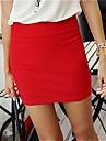 Femei Slim Pachet Hip fusta mini (Mai multe culori)