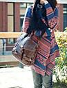 Femei Vintage Cape Jacquard Loose Cardigan