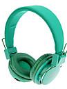 MRH-8809 3,5 mm stereo pliable casque supra-auriculaire avec fonction TF / FM (vert)