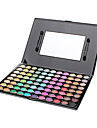 Make-up For You® 88 Color Eye Shadow Shimmer/Dry/Mineral Eyeshadow Palette Powder Professional Fairy makeup/Party makeup Makeup Palettes
