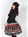 Pretty Lolita Halloween pumpa monster Princess Kawaii Skirt Lovely Cosplay