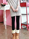 Women\'s Solid Color Fleece Warm Leggings