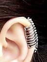 Cătușe pentru urechi Aliaj Skull shape Argintiu Bijuterii Pentru Petrecere Halloween Zilnic Casual