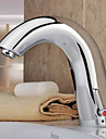 Waschbecken Wasserhahn Chrom-Finish mit automatischer Sensor (warm und kalt)