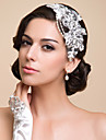 Women\'s Lace/Rhinestone/Imitation Pearl Headpiece - Special Occasion Headbands