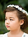 Women\'s/Flower Girl\'s Satin/Paper Headpiece - Wedding/Casual/Special Occasion Flowers
