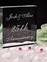 Cake Toppers Personalized Crystal Anniversary  Cake Topper